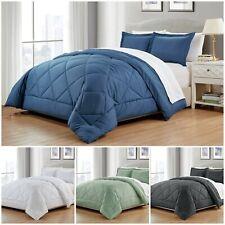 Chezmoi Collection 3-Piece Super Soft Down Alternative Comforter Set - 4 Colors