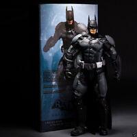 "BATMAN ARKHAM ORIGINS deluxe 18"" figure 1/4-SCALE SERIES dark knight NECA DC NIB"