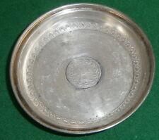 Silber-Schale wohl mit asiatischer Münze