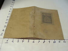 1925 FILTROS---the Porous Mineral Medium CATALOG, 34pgs