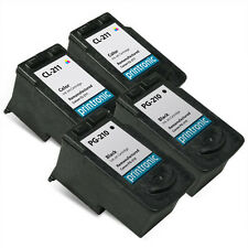 4 Pack Canon PG-210 CL-211 Ink Cartridge - PIXMA iP2700 MP250 MP490 MX330 MX410