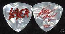 Slayer 2007 Unholy Tour Guitar Pick! Kerry King custom concert stage Pick #2