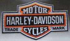 HARLEY DAVIDSON REFLECTIVE NIGHT VISION LONG B&S (XXL) PATCH