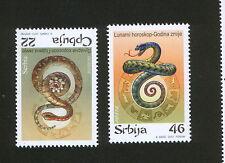 SERBIA-CHINA-MNH** SET-YEAR OF THE SNAKE, LUNAR HOROSCOPE-ZODIAC-2013.