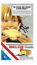 PUBLICITE  1969  GOUDA  HOLLAND  fromages