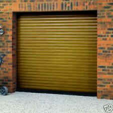 GLIDEROL ROLLER GARAGE DOOR  8Ft.  NEW .  GOLDEN OAK