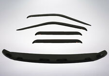 Bug Shield & Tape-On Vent Visors for 2004 - 2012 Chevy Colorado Crew Cab