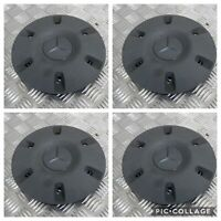 MERCEDES SPRINTER GENUINE CENTRE WHEEL TRIM HUB CAP COVER SET OF X4 2010-2018