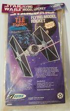 Estes Star Wars TIE fighter model rocket kit #1299 vintage original 1977  SEALED