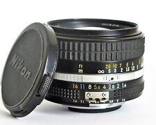 Nikon Nikkor 50mm f/1.4 Manual Focus Ai-s Lens Very Good Condition