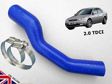FORD MONDEO MK3 2.0 TDCI INTERCOOLER TURBO BOOST EGR SILICONE HOSE PIPE BLUE