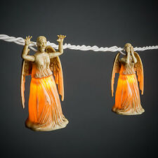 Officially Licensed Doctor Who Weeping Angel String Lights Christmas Lights NEW