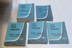 1967 Ford & Mercury Original Shop Manual New