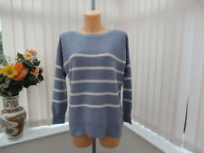 Joules blue Marnia soft wooly drop shoulder  jumper sz 12 BNWT