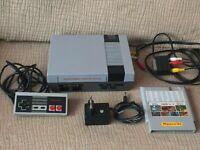 Clon NES Nintendo - NASA + CARTRIDGE 168 IN 1 + Original Nintendo controller