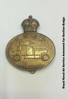Collectibles Militaria Royal Naval Air Service Armoured Car Section Badge