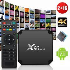 X96 mini TV Box 4K Android 7.1 2G 16G HD 3D WiFi S905W Quad-core Media Player