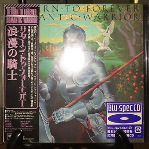 RETURN TO FOREVER- Romantic Warrior Japan MINI LP Blu Spec CD OBI SICP-20303 OOP