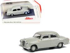 MERCEDES BENZ 180 D (W120) PONTON GRAY 1/64 DIECAST MODEL CAR SCHUCO 452022100