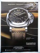 PUBLICITE-ADVERTISING :  PANERAI Luminor 1950 10 Days  2014 Montres