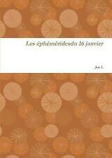 16 Janvier by Joe L (2014, Paperback)