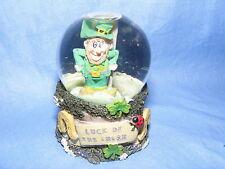 Declans Finnians Irish Mini Waterball Irish Flag 11132 Ireland Waterglobe