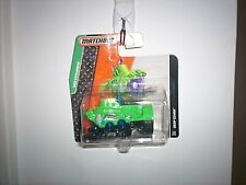 2015 Matchbox #110 Deep Diver™ GREEN / NEPTUNE'S NAVIGATOR / SHORT CARD / MOC