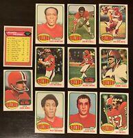 1976 TOPPS ATLANTA FALCONS TEAM SET  EX-NM   NOBIS   HUMPHREY  BARTKOWSKI RC