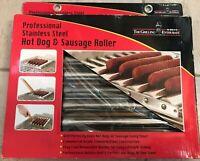B2Q 76909 Hot Dog Roller Stainless Steel