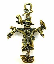 50Pcs. WHOLESALE Tibetan Antique Bronze SCARECROW Halloween Charms Pendant Q0510