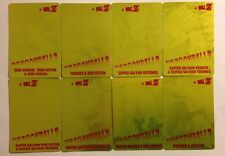Dragon Ball Z PP Card Gold Set 8/8