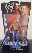 WWE WWF Mattel Basic Survivor Series Heritage John Cena Wrestling Figure MOC