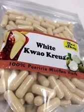 100 % Organic Pueraria mirifica - White Kwao Krua Herb- 500mg x 120 Capsules