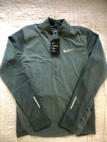 NIKE AeroReact Half 1/2 Zip Running Jacket Top Shirt Mens Medium *NEW $175