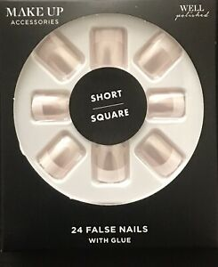 Make Up Accessories False Nails With Glue 24 Pieces. FAST & FREE.