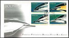 Tokelau 1996 Dolphins FDC FAKAOFO Postmark #C47067