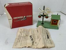 AMERICAN FLYER #23759 Bell Danger Signal with Original Box