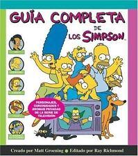 Guia completa de los Simpson Spanish Edition