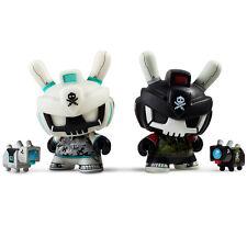 "Kidrobot DTA Designer Toy Awards 3"" Dunny Vinyl QUICCS 2 x set NEW RARE"