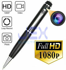 1080p HD Spy Pen DVR Nanny Cam Hidden Recorder Secret Shopper Camera