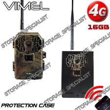 Trail Camera 4G 16Mpx Hunting Metal Protection Box 3G Waterproof Night Vision