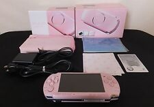 [N.Mint] SONY Playstation Portable Console PSP-3000 Pink Value Pack JAPAN #M2