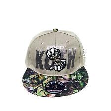 Kush Grinding Hands Camouflage Hip Adjustable Unisex Baseball Hat Snapback Cap