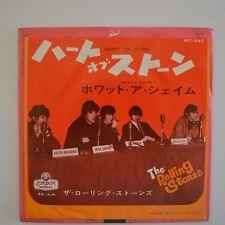 "ROLLING STONES - HEART OF STONE - 1965 7"" SINGLE JAPON"