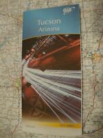 AAA TUCSON ARIZONA AZ Travel Road Map Vacation Roadmap 2017-2020 FREE SHIPPING!