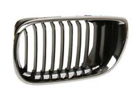 BMW 3 E46 Vorne Kühler Links Gitter 51137030545 7030545 Neu Original