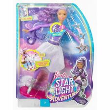 Barbie Star Light AVVENTURA LUCI E SUONI hoverboarder Doll Set Età 3+ DLT23