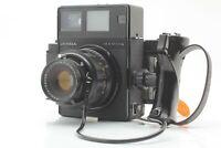 【 N MINT ++ 】 Mamiya Universal Press Black w/ Sekor P 127mm f/4.7 Lens Japan 692