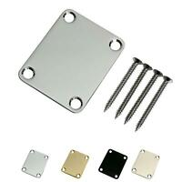Stratocaster Telecaster Electric Guitar Neck Plate Screws Included