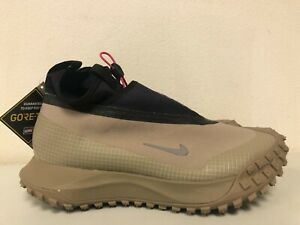 Nike ACG Mountain Fly Gore-Tex Khaki Metallic Silver CT2904-200 Mens Size 9